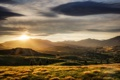 Картинка New Zealand, evening, valley, Bendemeer Estates