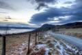 Картинка дорога, пейзаж, забор