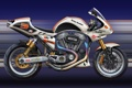 Картинка арт, Harley-Davidson, харлей, спортивный мотоцикл
