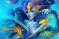Картинка рыбы, русалка, Helen Rusovich