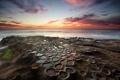 Картинка море, небо, закат, камни, воды, чаши