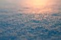 Картинка закат, xmas, new year, сугроб, мерцание, природа, зима