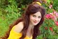 Картинка девушка, улыбка, мультфильм, платье, косплей, Белль, Дисней