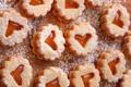 Картинка печенье, сердечки, десерт, выпечка, сладкое