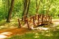 Картинка мост, природа, парк, фото, Сербия, Obrenovac