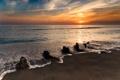 Картинка пена, пляж, волна, море