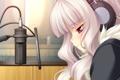 Картинка девушка, игра, аниме, наушники, микрофон, chu x chu paradise