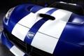 Картинка Launch Edition, синий, GTS, передок, Додж, Dodge, Вайпер