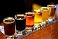 Картинка пиво, ряд, стопки