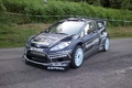 Картинка черный, ford, black, rally, wrc, fiesta rs