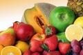 Картинка яблоки, Дыня, ассотри