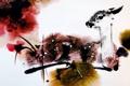 Картинка стиль, Бэмби, олень, арт, акварель, Животные, олененок