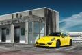 Картинка Желтый, Porsche, Порше, GT3