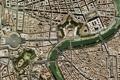Картинка Рим, Ватикан, Собор Святого Петра, Vatican, Roma, спутниковая карта, satellite map