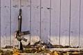 Картинка gun, wall, m4a1, scope, M4A1 SOPMOD Block II