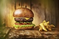 Картинка фон, еда, Hombre burger