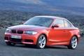Картинка BMW, Машина, Решетка, БМВ, Оранжевый, Корпус, 1 Series
