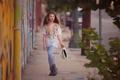 Картинка настроение, улица, девочка