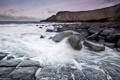 Картинка море, пейзаж, England, Craster