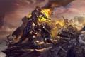 Картинка art, World of Warcraft, орк, warlords of draenor, Grommash Hellscream