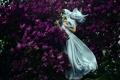 Картинка девушка, платье, сирень, Bella Kotak, You exist in spring
