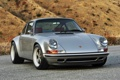 Картинка фон, тюнинг, купе, 911, Porsche, серебристый, Порше