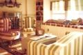 Картинка дизайн, стиль, комната, мебель, книги, радио, интерьер