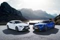 Картинка белый, синий, Lexus, лексус, F-Sport