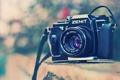 Картинка камера, фотоаппарат, объектив, zenit