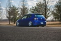 Картинка синий, golf, тюнинг, volkswagen, gti, гольф, R32