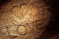 Картинка love, wood, Heart