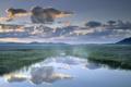 Картинка небо, облака, пейзаж, горы, природа, туман, фото