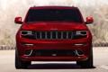 Картинка SRT, Jeep, машина, передок, Grand Cherokee, красный, джип