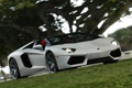 Картинка машина, свет, фары, Roadster, Lamborghini, передок, LP700-4