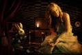 Картинка часы, Алиса в стране чудес, кролик
