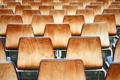 Картинка фото, фон, обои, стулья, ряд, древесина, разное