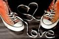 Картинка любовь, надпись, кеды