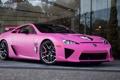 Картинка машина, авто, розовый, суперкар, Lexus LFA
