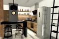 Картинка дизайн, кухня, комната, интерьер, стиль