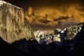 Картинка горы, природа, Yosemite Sunset
