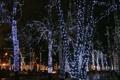 Картинка город, фон, widescreen, Москва, Новый год, wallpaper, широкоформатные