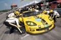 Картинка Corvette, на пит стопе, Chevrolet