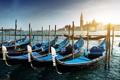 Картинка море, остров, пристань, лодки, Италия, Венеция, Italy