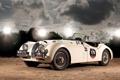 Картинка машина, ретро, jaguar, xk120 roadster