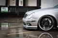 Картинка дождь, колесо, silver, Mercedes, диск, мерседес, rain