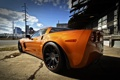 Картинка корветт, chevrolet, оранжевый, orange, шевроле, zо6, corvette
