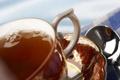 Картинка узор, чай, капля, полотенце, чашка, блюдце