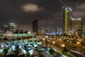 Картинка небо, ночь, огни, дома, сша, California, San Diego