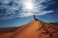 Картинка песок, небо, солнце, путешествия, люди, ситуации, настроение
