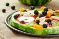 Картинка grape, ежевика, виноград, банан, blackberry, яблоко, watermelon